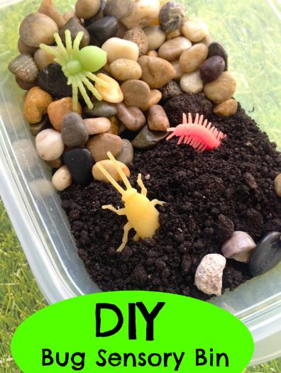 DIY Bug Sensory Bin for Kids