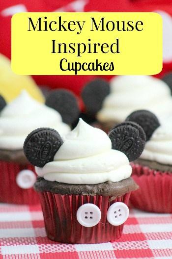 Disney Mickey Mouse Cupcakes Recipe Tutorial
