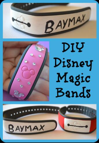 Diy Disney Magic Band Big Hero 6 Baymax Design
