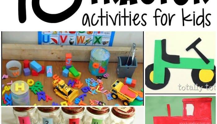 10 Tractor Activities for Kids