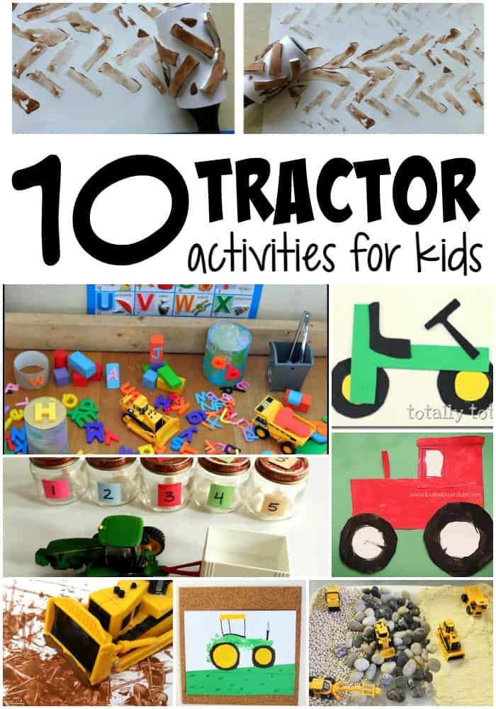 10 Tractor Activities for Kids
