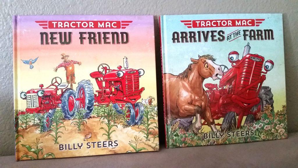 Scholastic Tractor Mac Book series