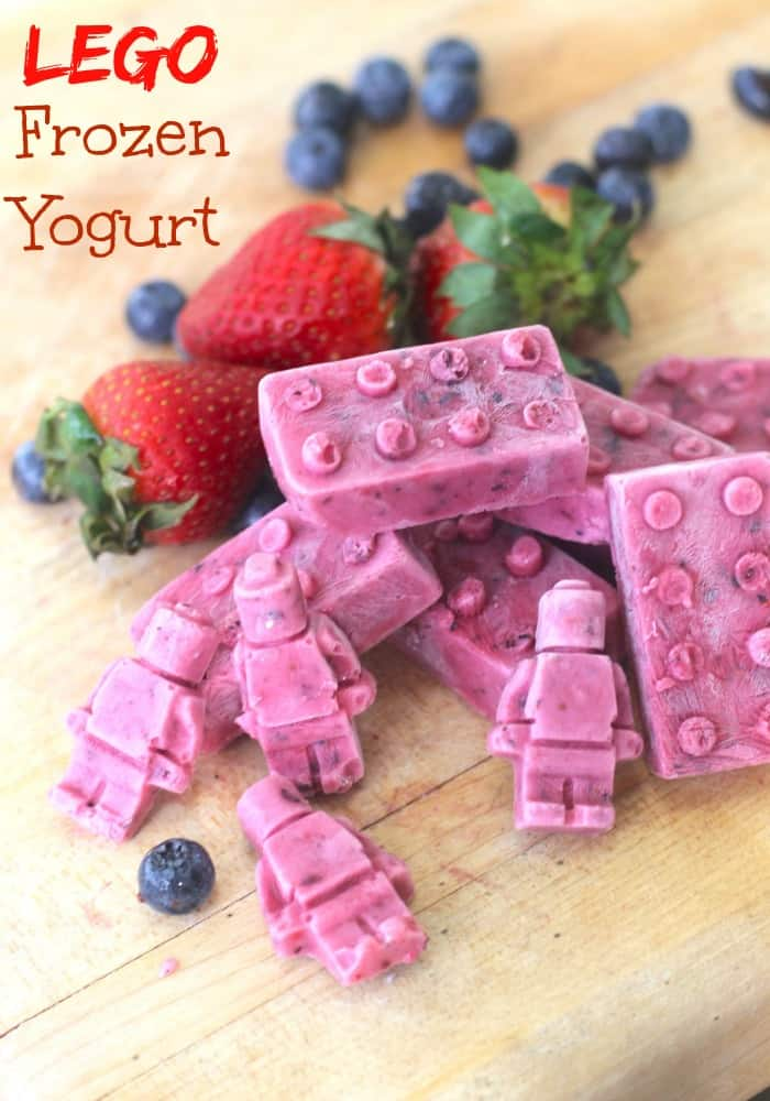 LEGO Frozen Yogurt Kids Snack