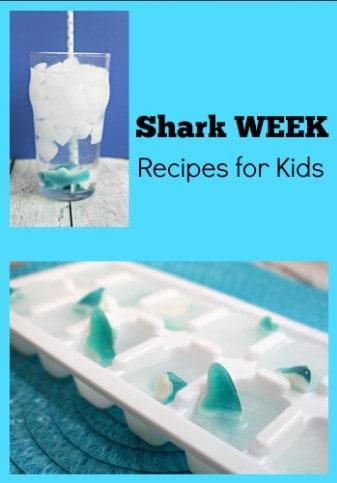 Shark Week Kids Recipes and Activities