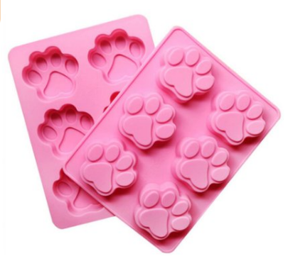 Puppy Dog Paws Silicone Mold for Treats
