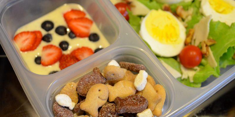 Healthy Salad Bento Box Back to School Lunch Idea