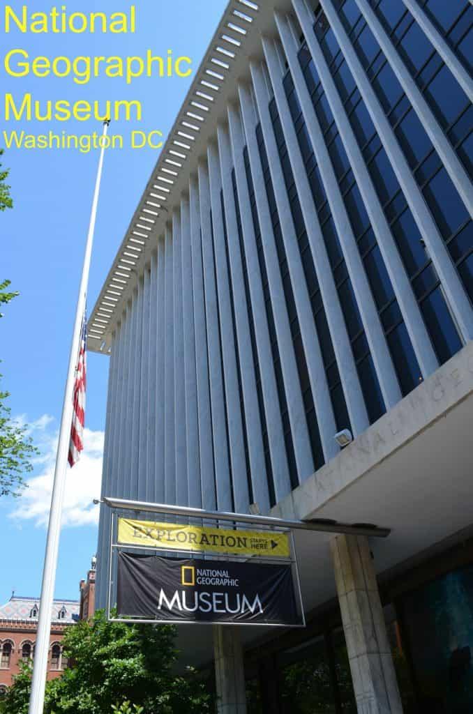 National Geographic Museum Washington DC