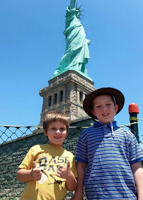 Visiting the Statue of Liberty NYC