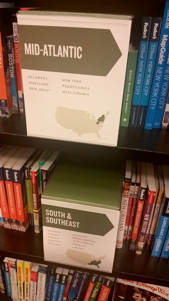 travel books at Barnes & Noble