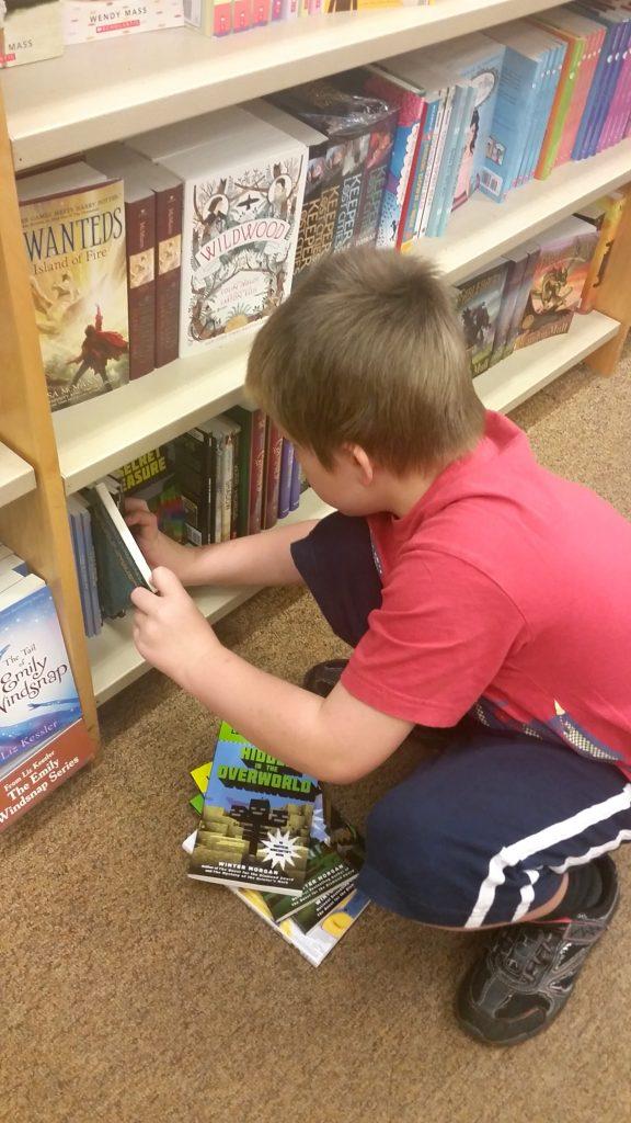 children's books at Barnes & Noble