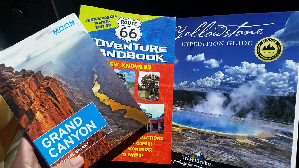 travel road trip books at Barnes & Noble
