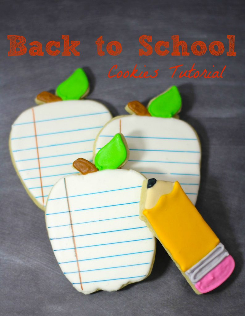 School Notebook Sugar Cookies Recipe