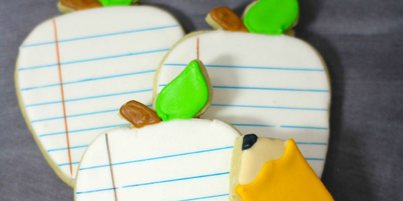 Back to School Cookies Tutorial