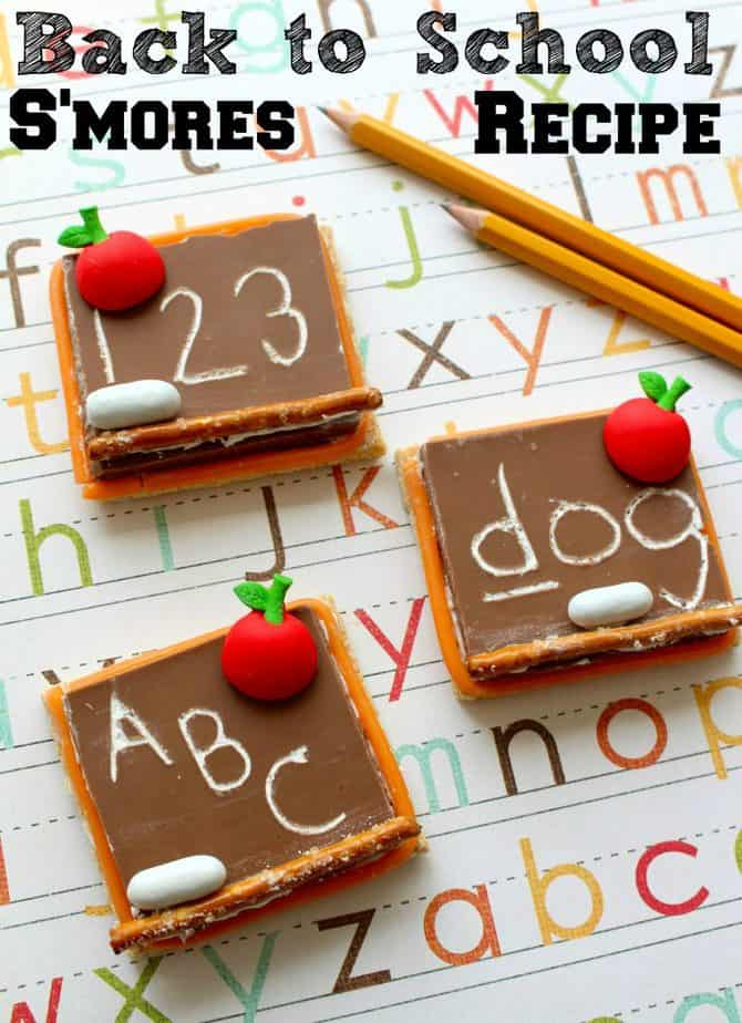 back to school recipe mini chalkboards treats