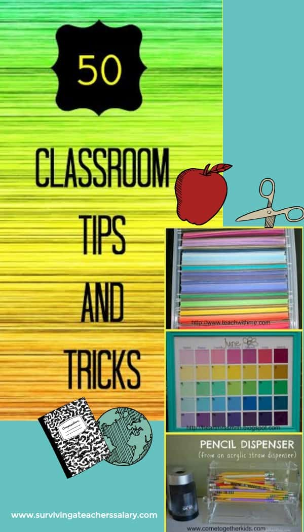 Classroom Hacks to Organize your Classroom