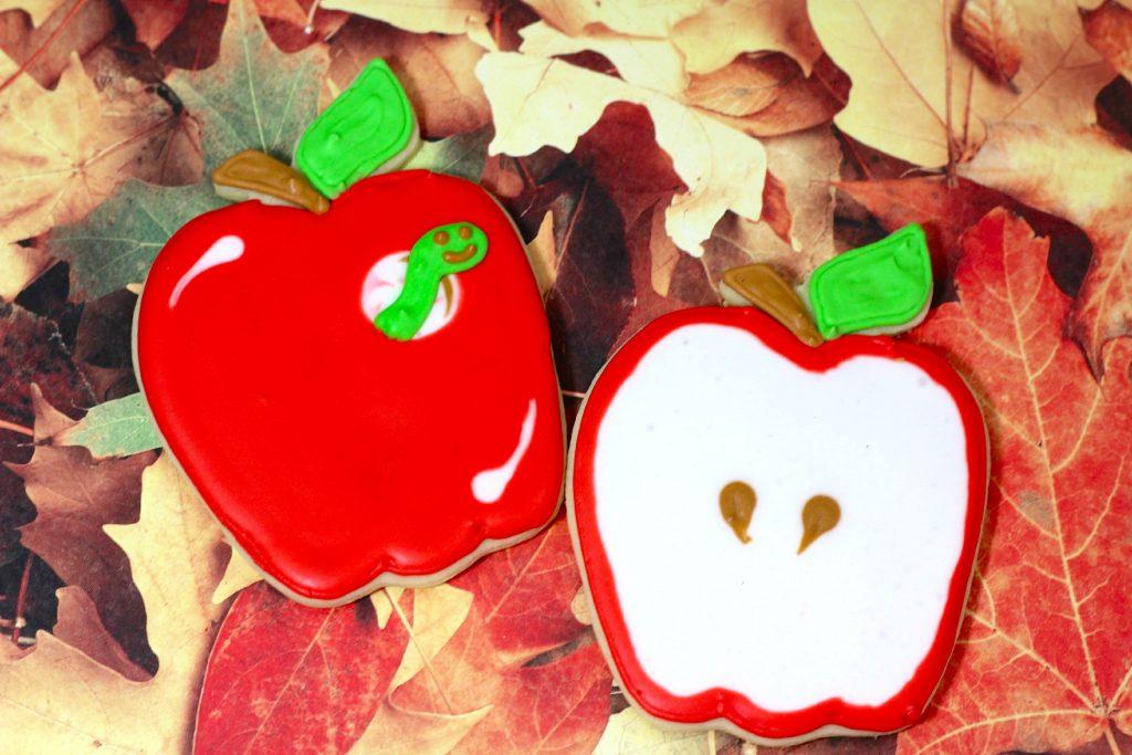 Back to School Apple Cookies Recipe Tutorial