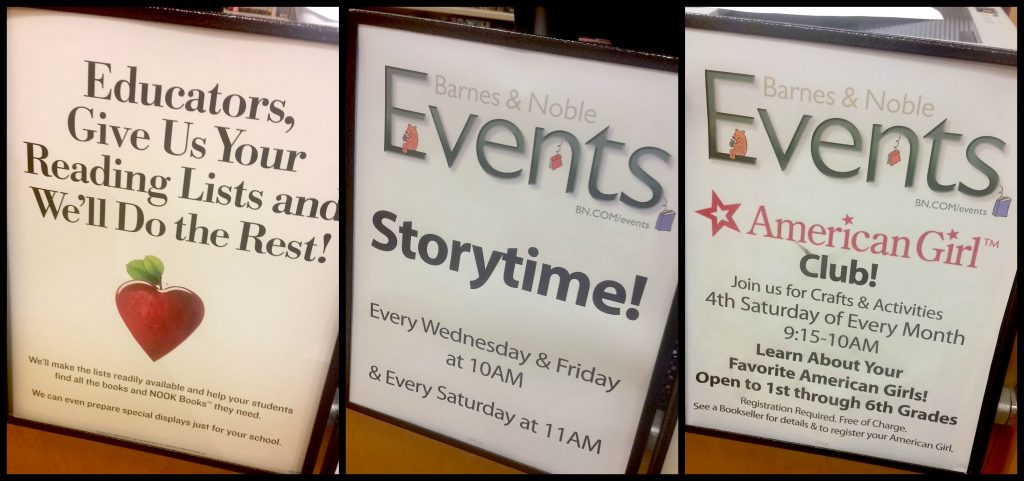 events at Barnes & Noble
