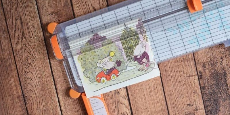 DIY Nursery Children's Book Art Project
