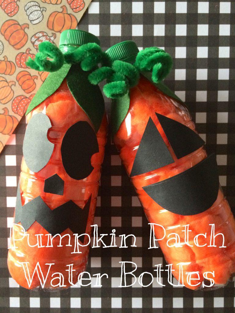 EASY Recycled Pumpkin Preschool Craft for Kids
