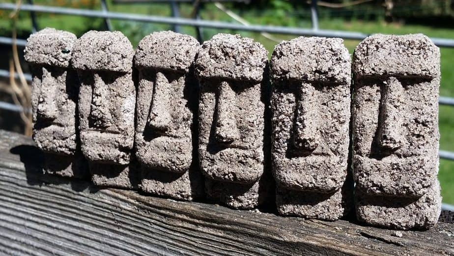 Easter Island History Craft for Kids