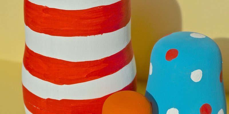 DIY Dr Seuss Inspired Nesting Dolls Craft