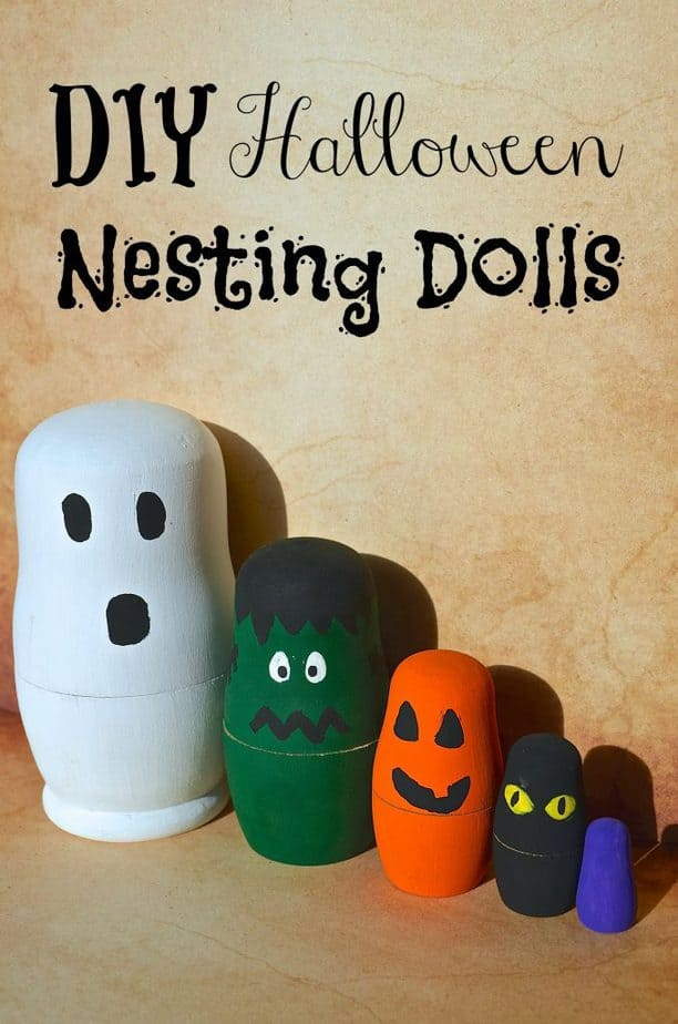 DIY Halloween Nesting Dolls Craft