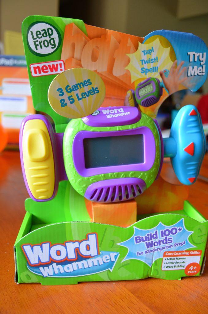 Leapfrog Word Whammer Review Letter Learning Fun
