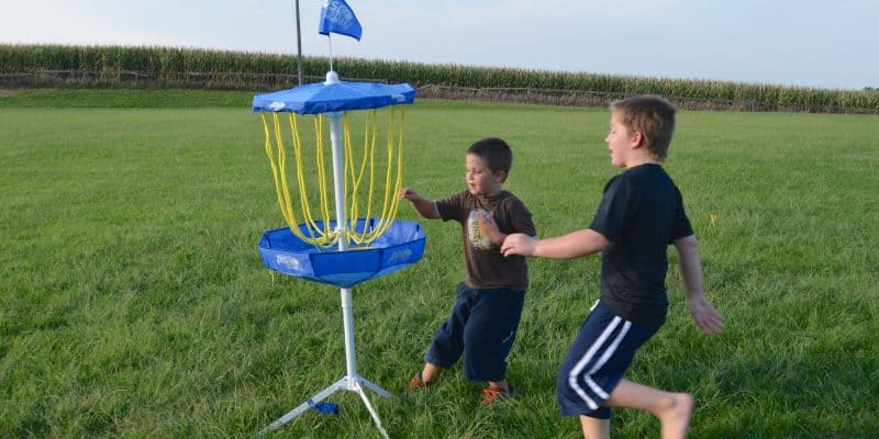 Portable Flying Disc Golf Outdoor Game