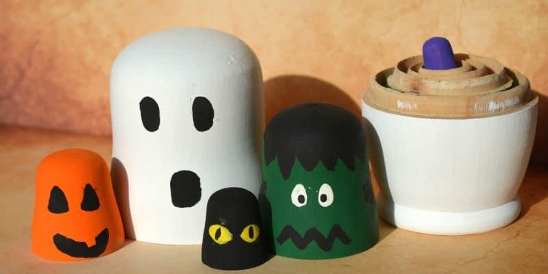 DIY Halloween Nesting Dolls