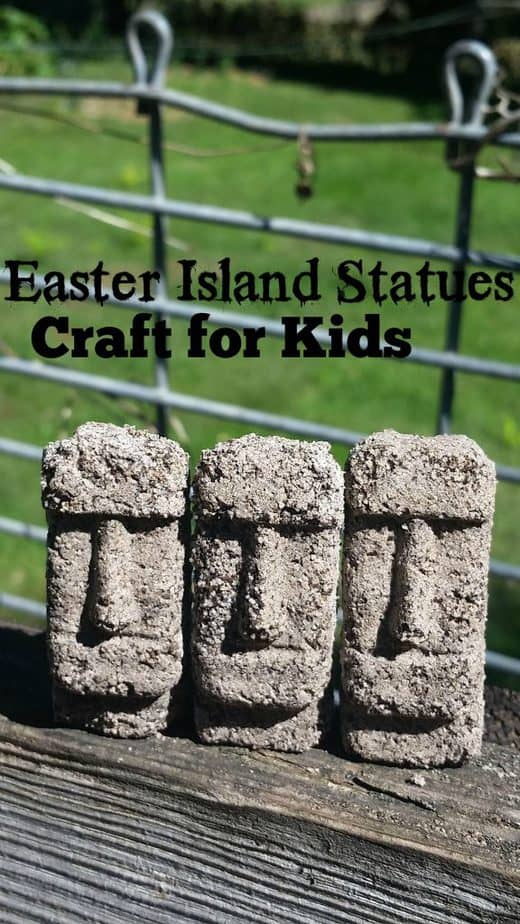 Easter Island Statue Crafts