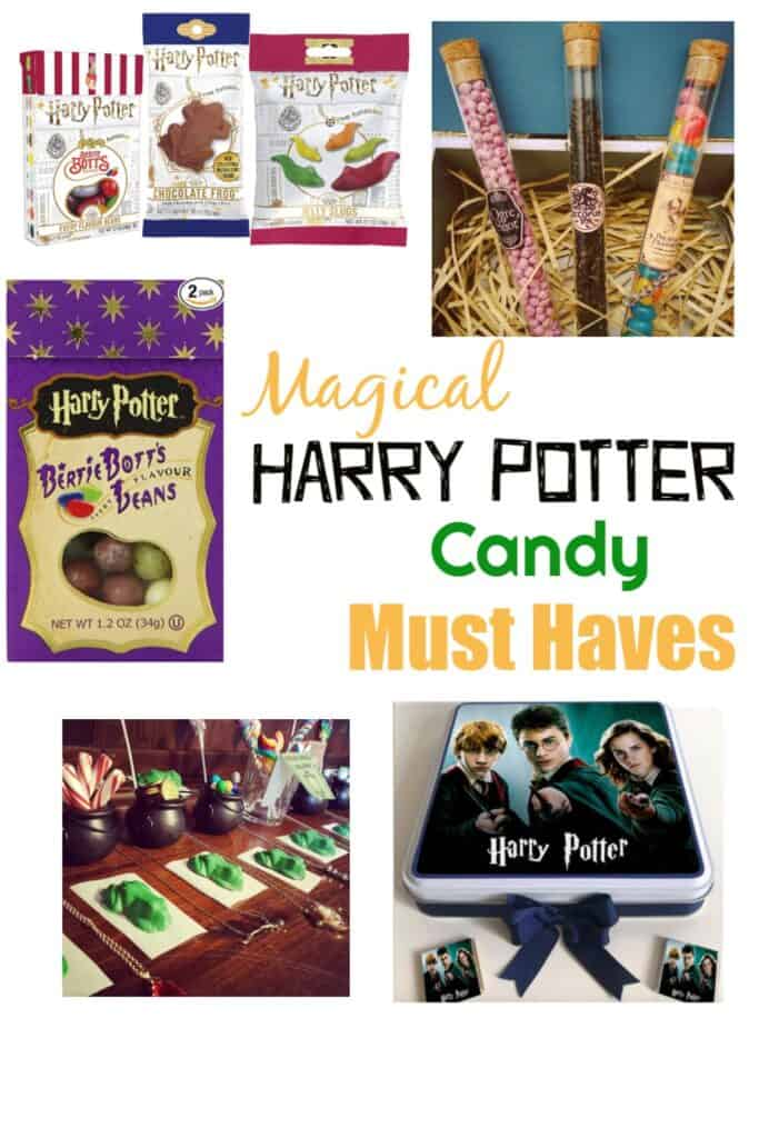 Harry Potter Candy Must Haves