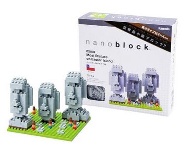 Easter Island Nanoblocks history toys for kids