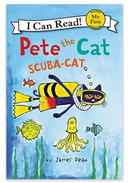 Pete the Cat Scuba Cat children's book
