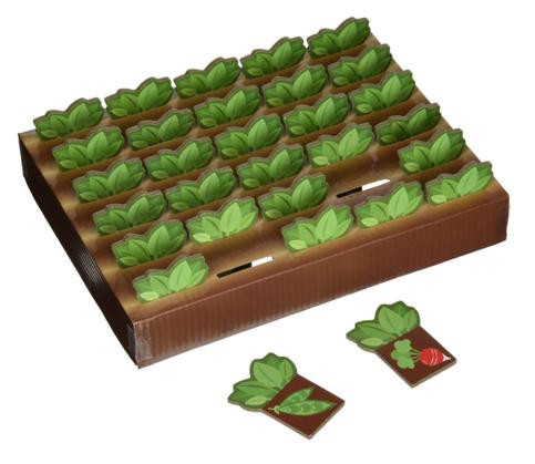 Farm Garden Harvest Memory Game for Preschool