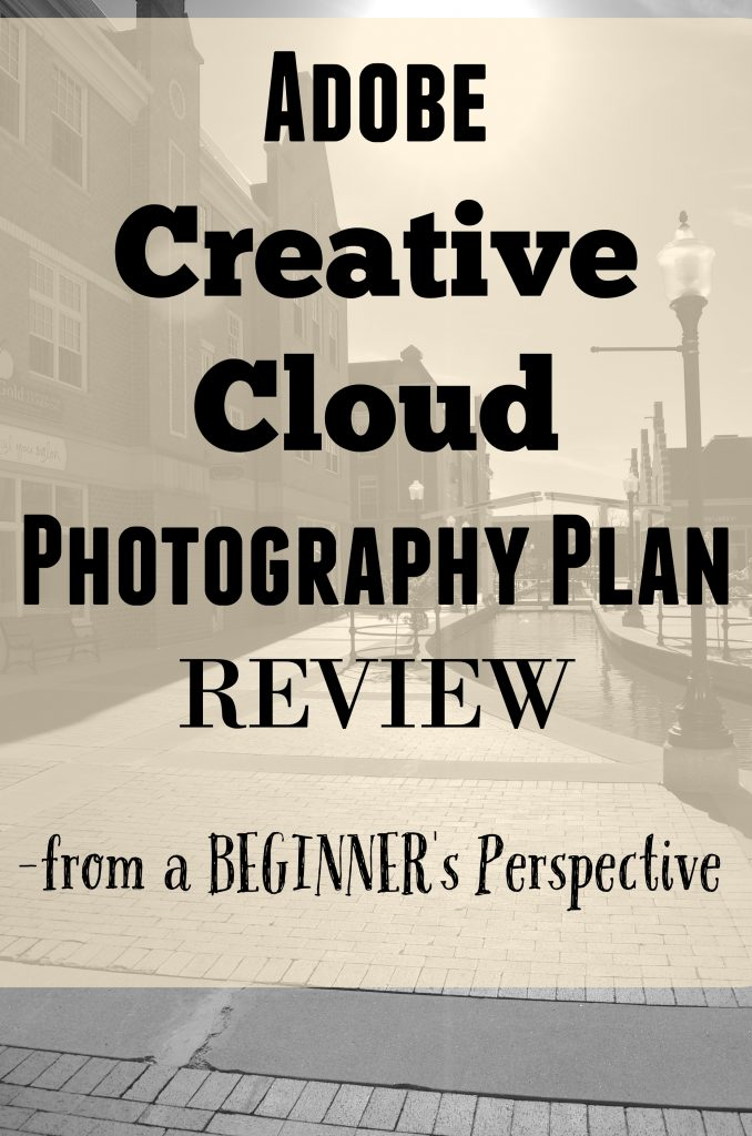 Adobe Creative Cloud Photography Plan REVIEW