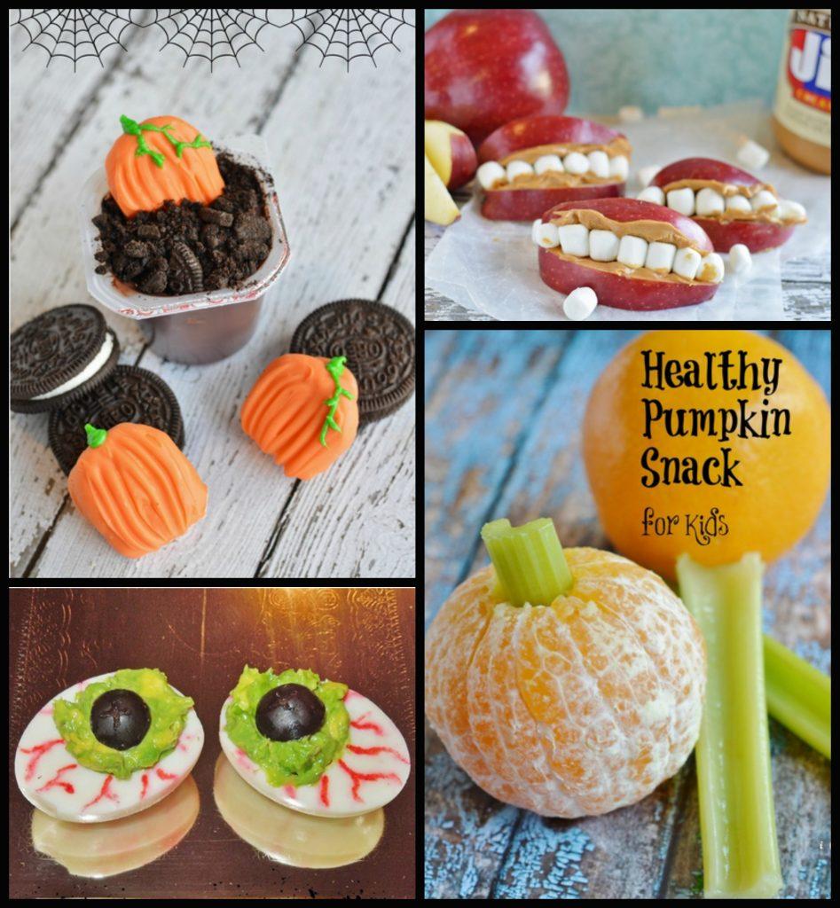 Halloween Kid's Party Snacks