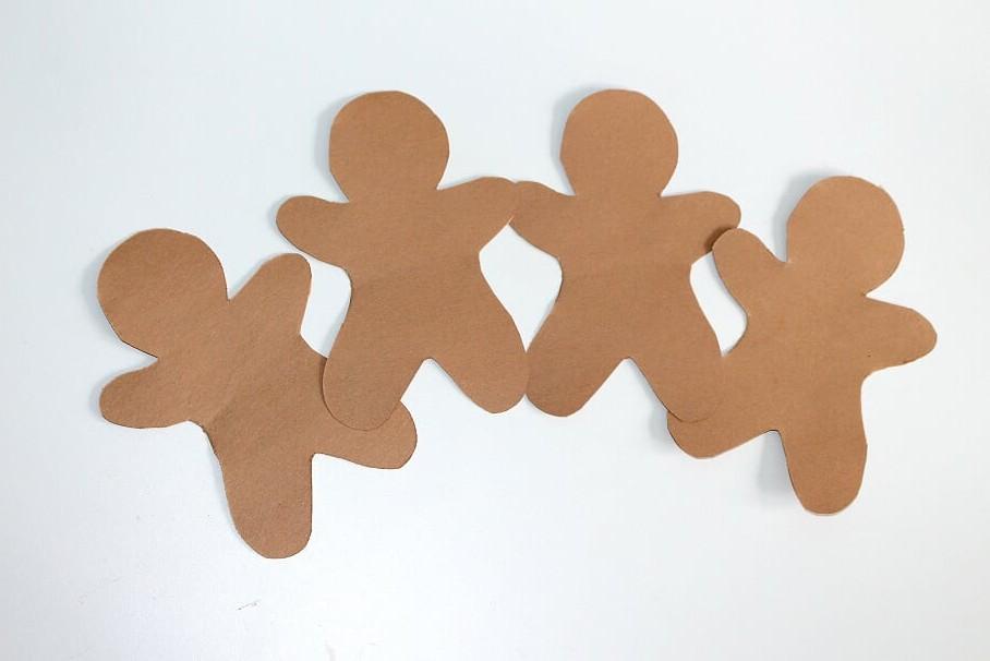 Gingerbread Friends Preschool Craft