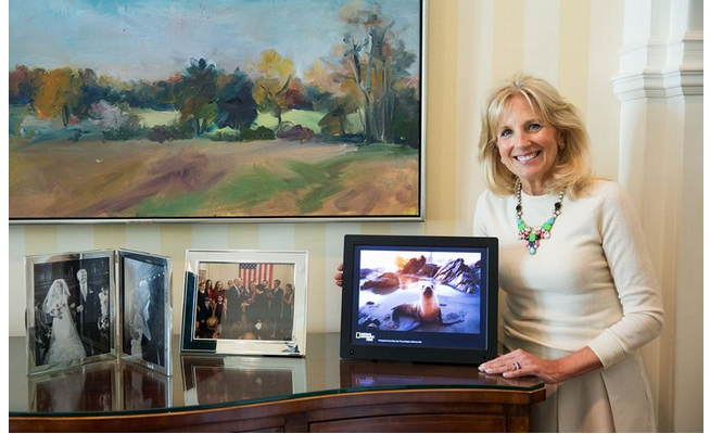 Dr. Jill Biden MyShot Program National Geographic Kids