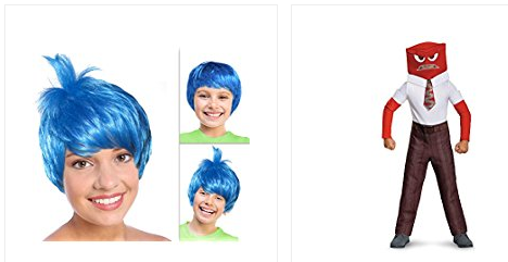 FREE Disney's Inside Out Halloween Activities & Costume Ideas