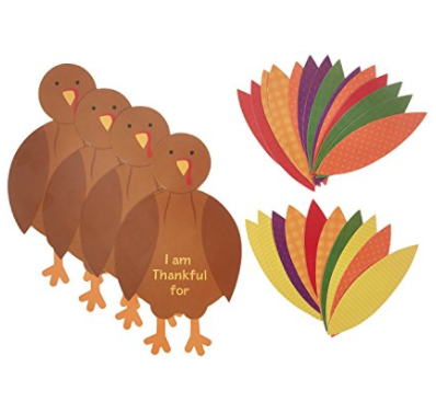 Thanksgiving Turkey Kids Craft Sets