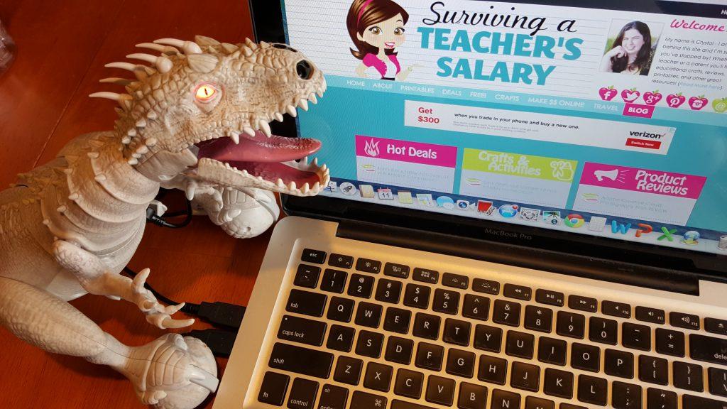 Jurassic Park Zoomer Dino Indominus Rex Holiday STEM Gift