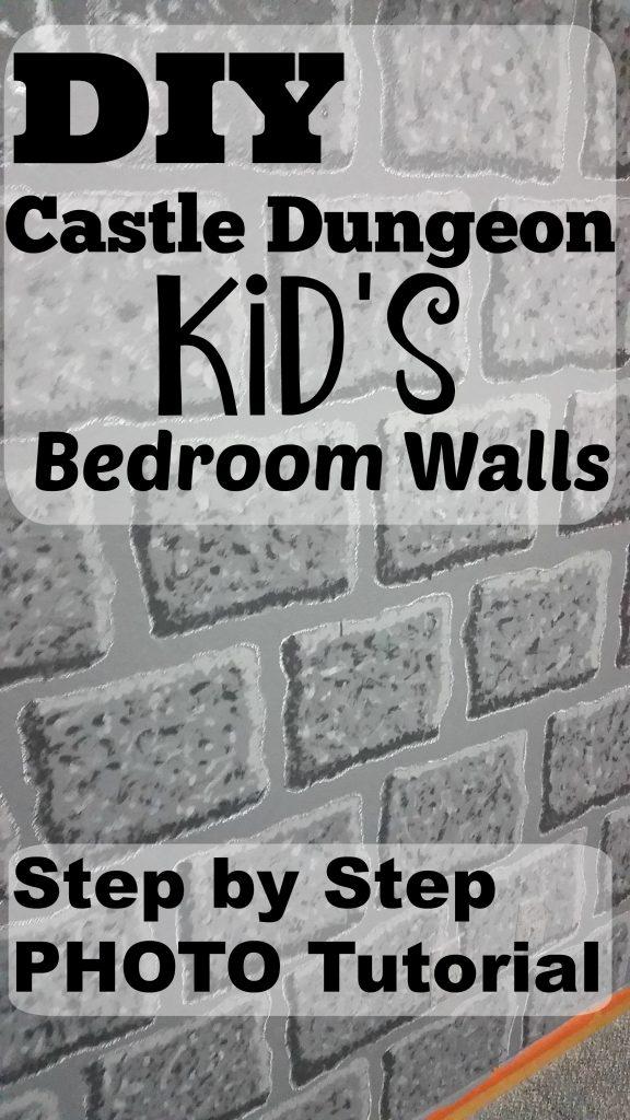 DIY Castle Dungeon Kid's Bedroom Tutorial