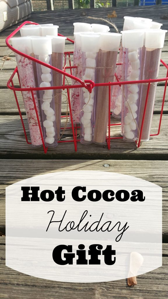 Hot Cocoa Handmade Holiday Gift with Printable
