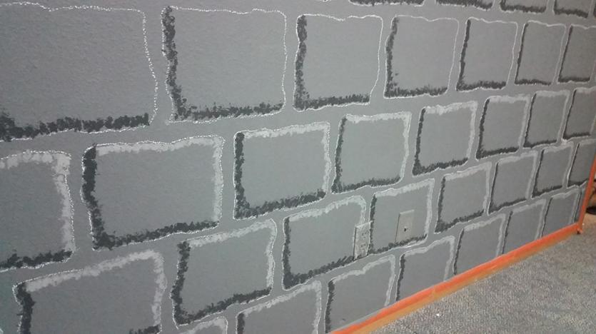 DIY Castle Dungeon Minecraft Kid's Bedroom Paint Tutorial