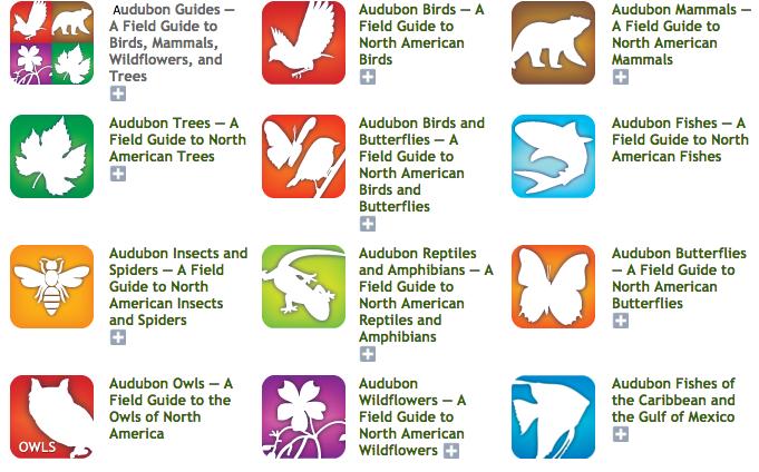 Audubon Society Apps