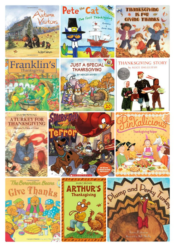Thanksgiving Children's Books for November