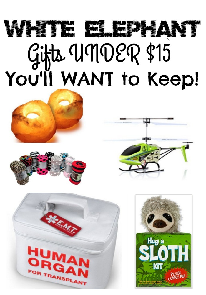White Elephant Gift Ideas that You'll WANT to KEEP!