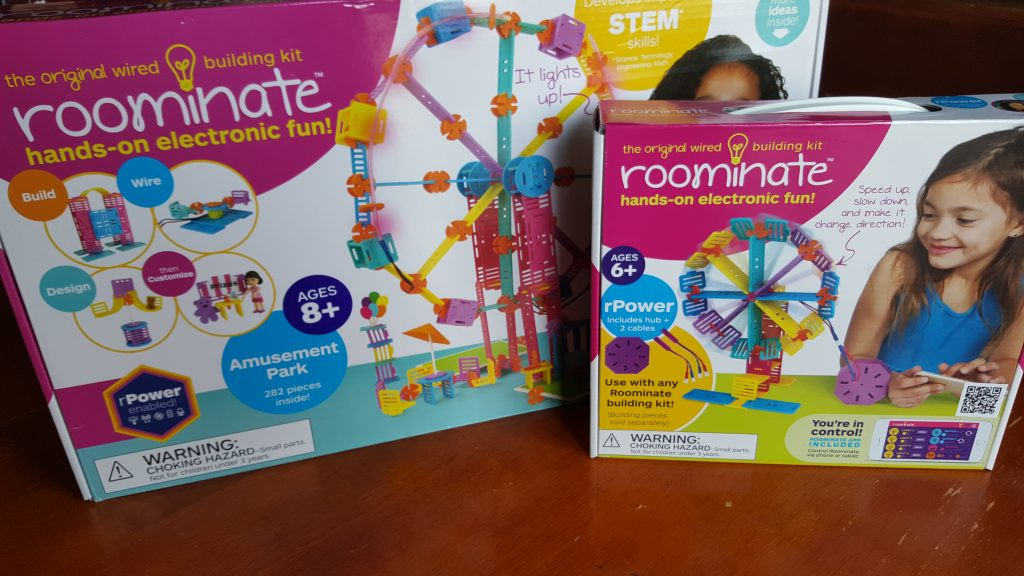Roominate Amusement Park Building set - Holiday STEM Gift Guide