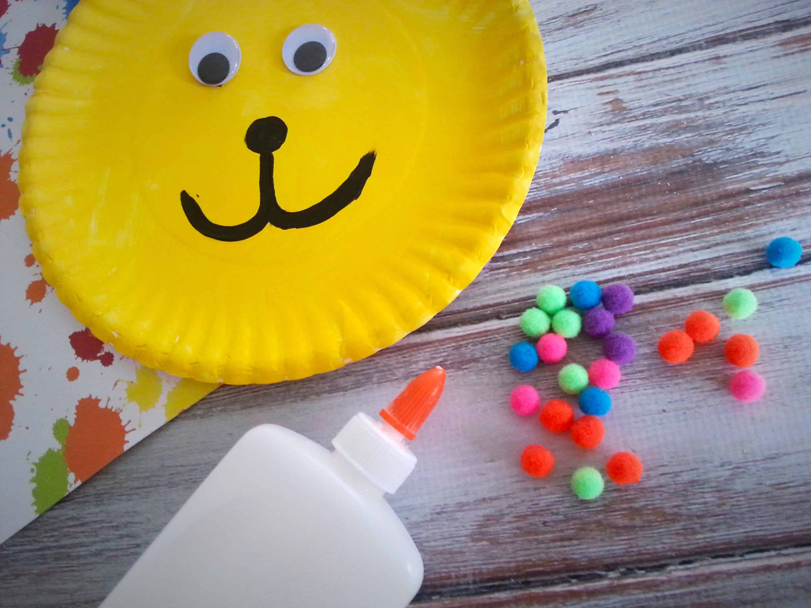 Put Me In The Zoo Paper Plate Childrens Book Craft