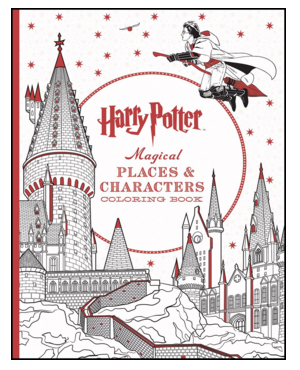 new Harry Potter Magical Coloring Book